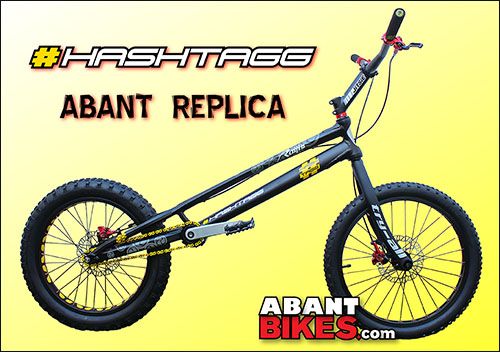 Banner Hashtagg Abant Bikes Limited Edition