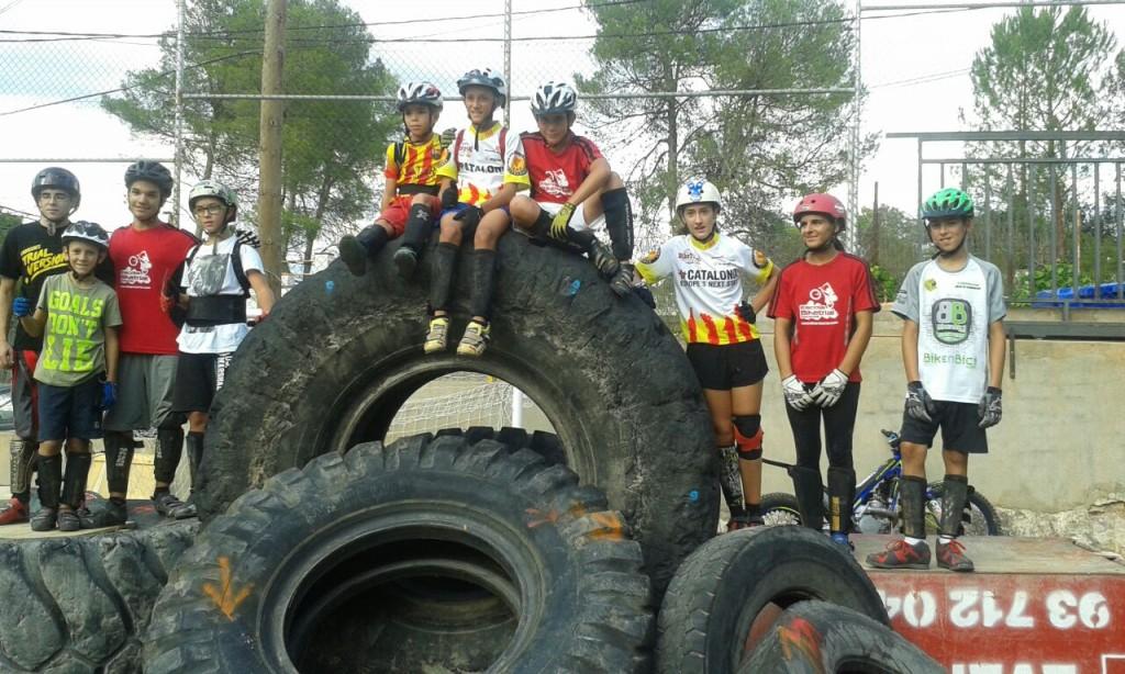 Exhibiión Vacarisses - BikeTrial AbanTwins