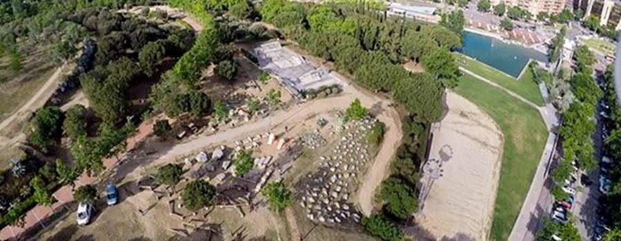 1500m² de zones de BikeTrial per a tots els nivells al Parc Catalunya de Sabadell. En un entorn bonic i amb pàrquing al costat