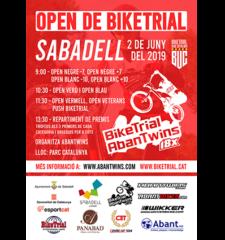 Banner-Open BikeTrial 1 Sabadell 2019
