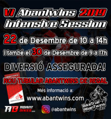 AbanTwins Intensive Session Poster