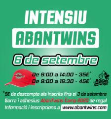 POSTER Intensiu AbanTwins 8 setembre 2020