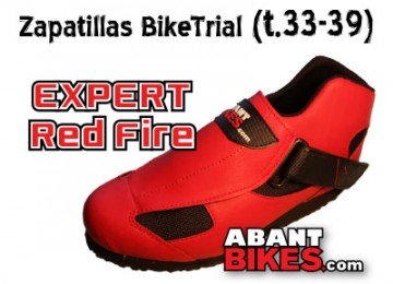 Banner Abant Bikes zapatillas Expert Red Fire