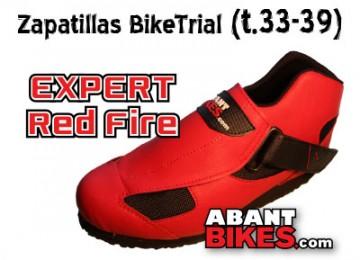 Banner Abant Bikes zapatillas Expert Red Fire